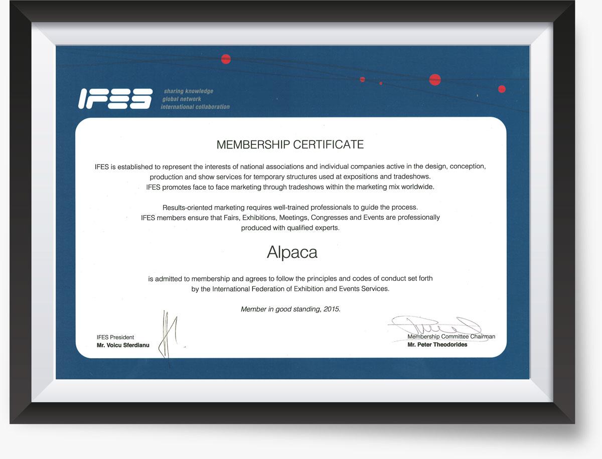 Застройщик стендов IFES