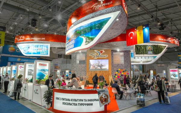 Выставочный стенд Турция
