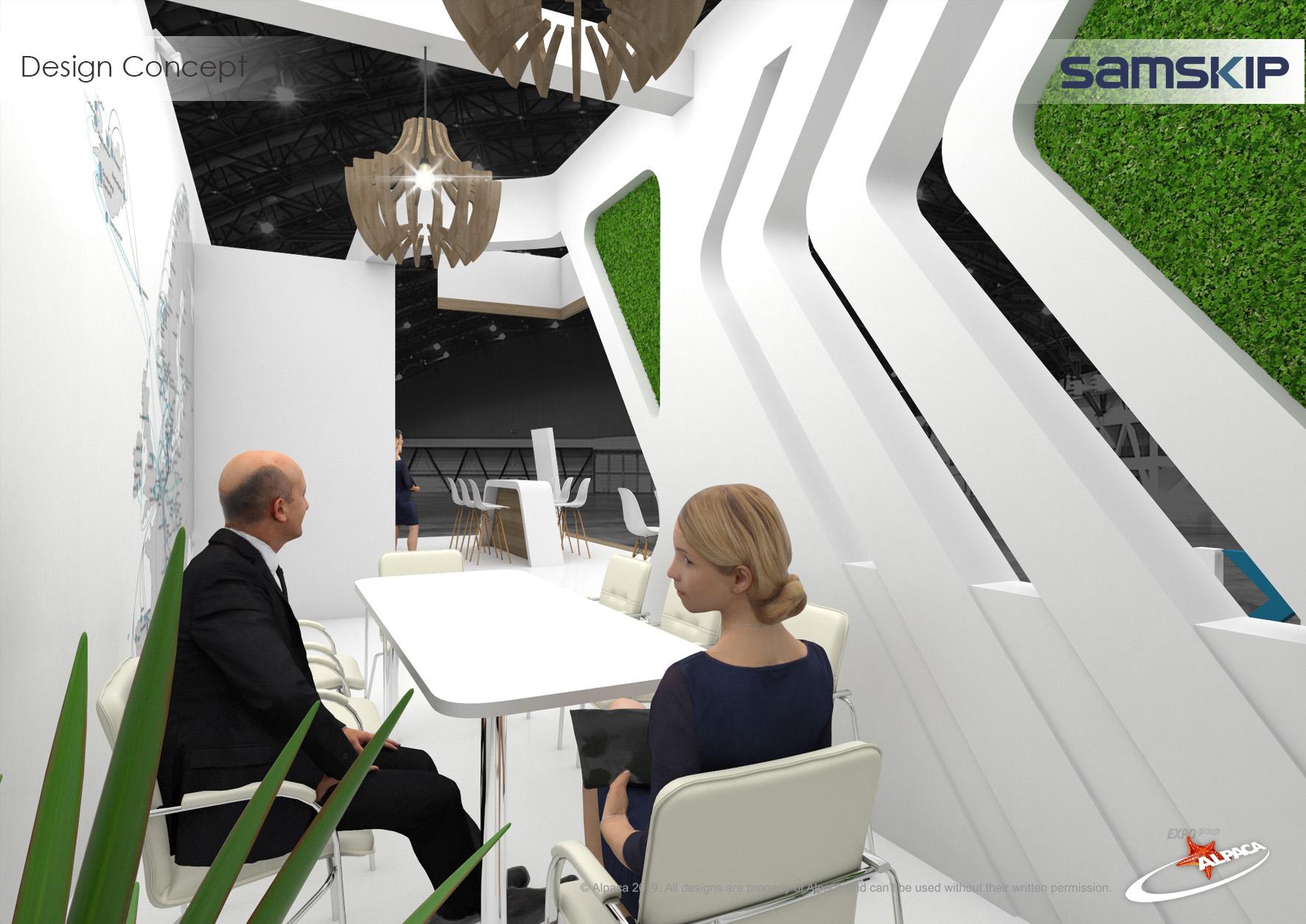 Дизайн кімнати для переговорів