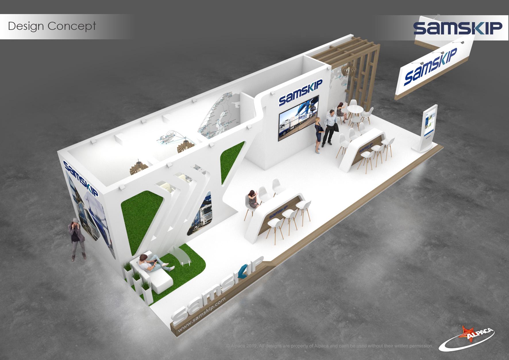 Проектування стендів для виставки