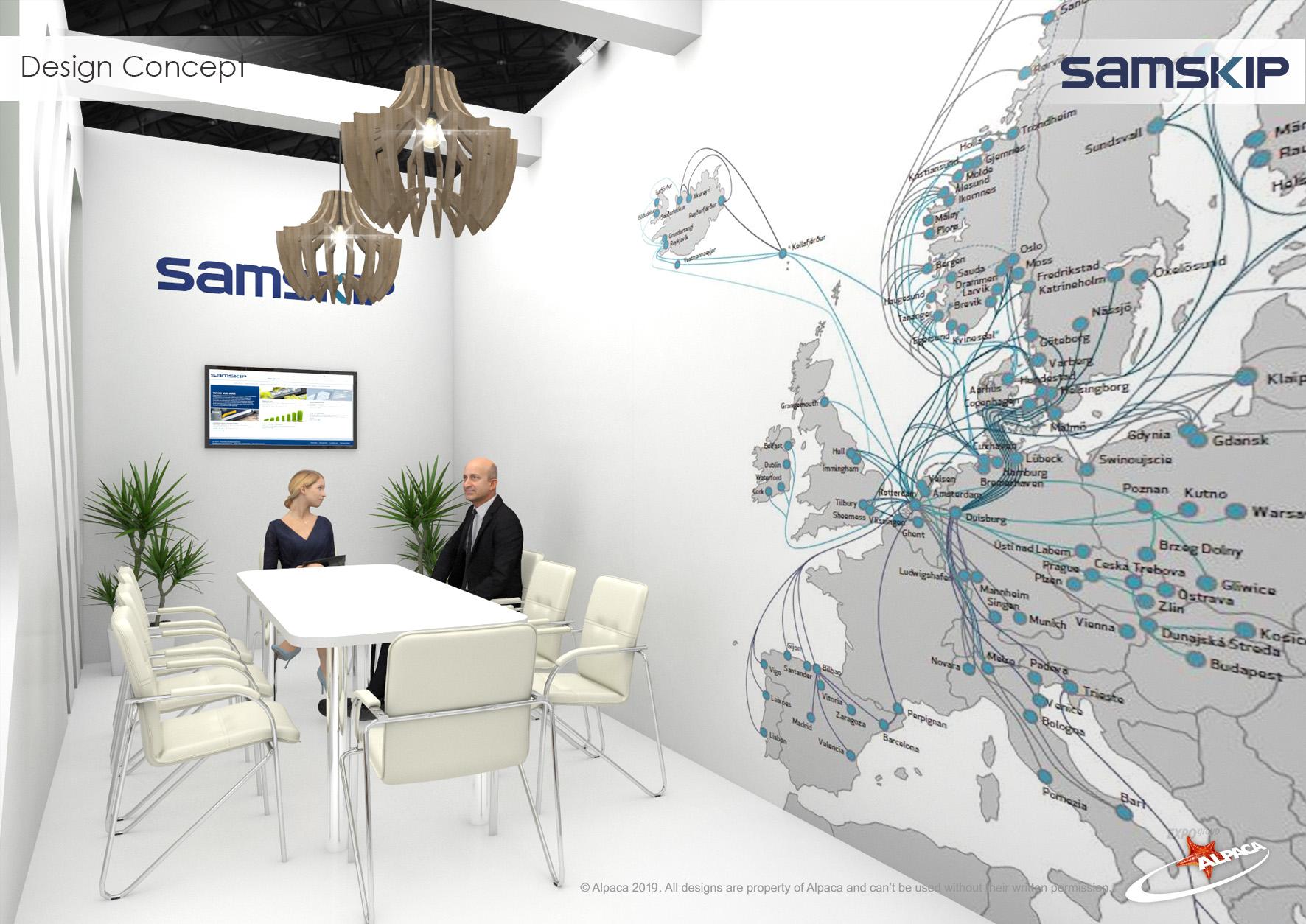Дизайн переговорної кімнати