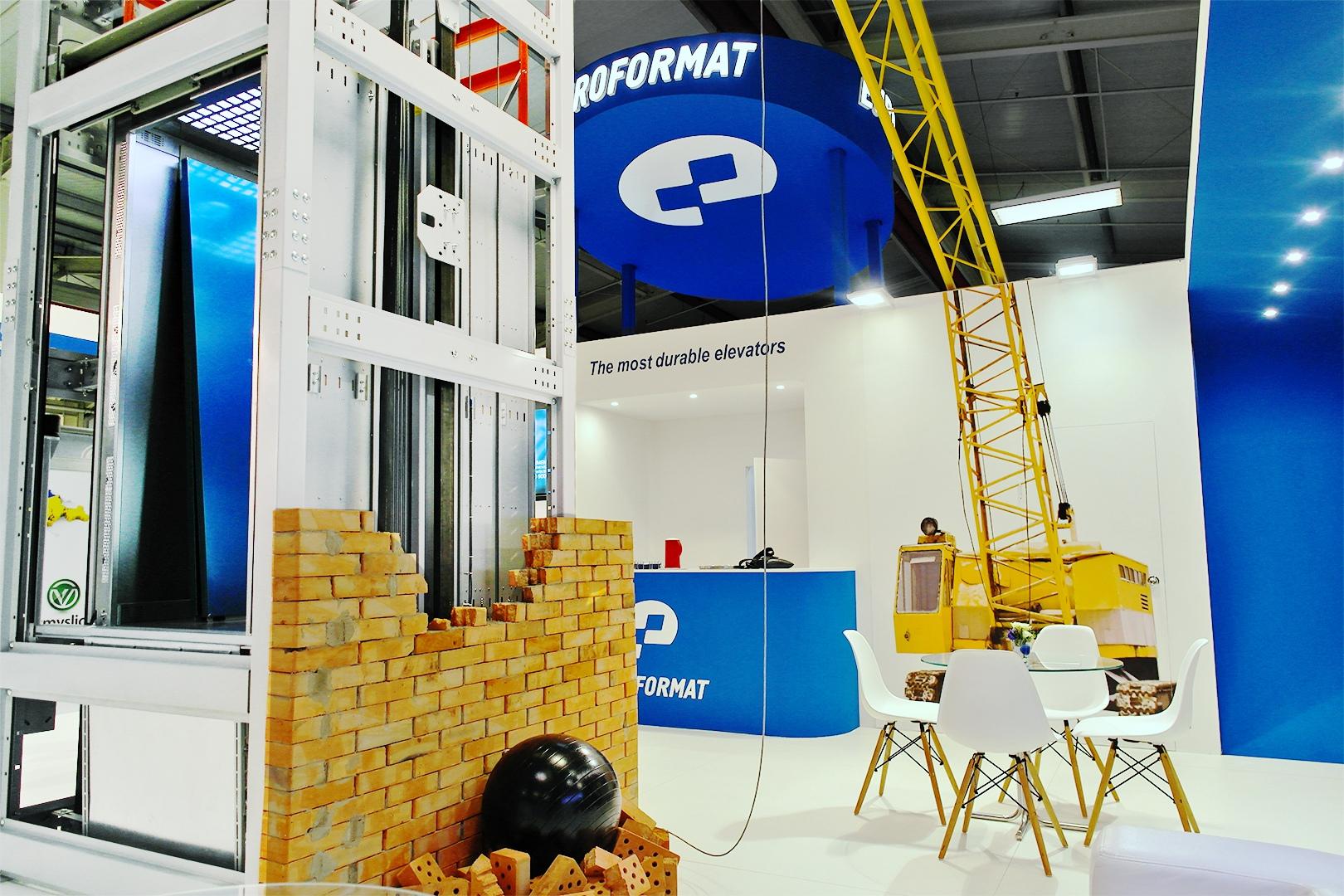 Виставковий стенд компанії Євроформат