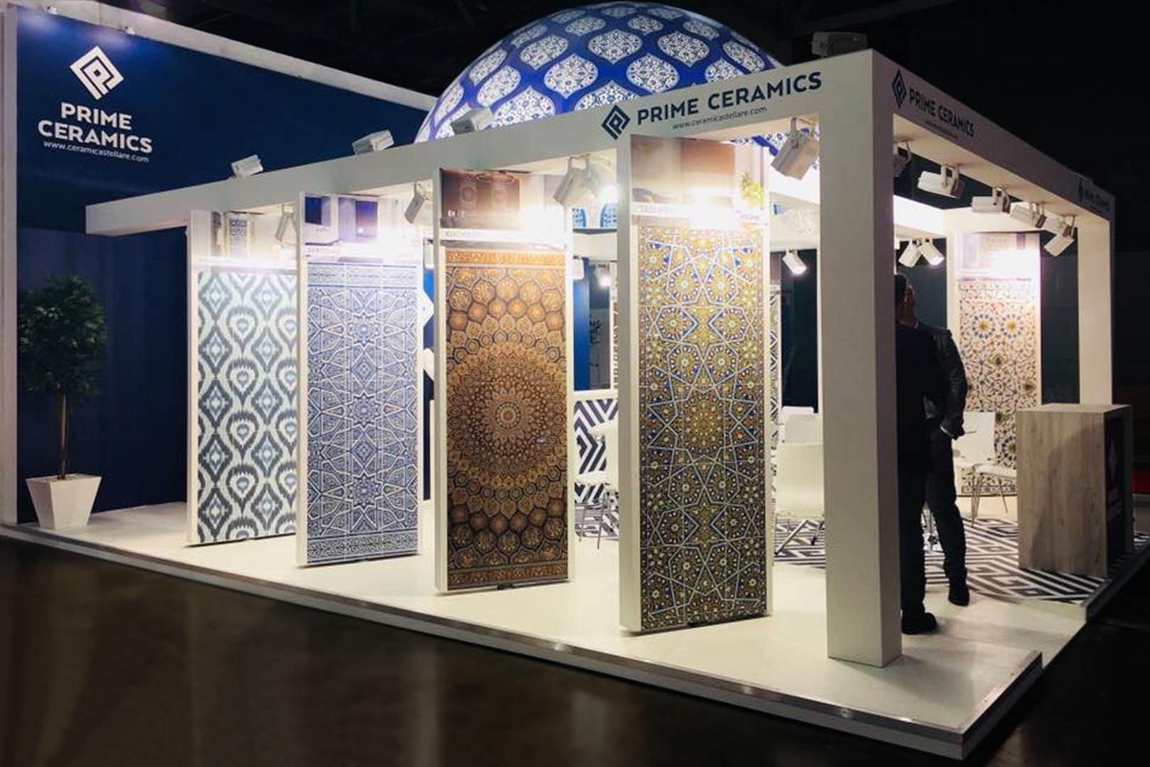 стенд компанії Prime Ceramics на російській виставці