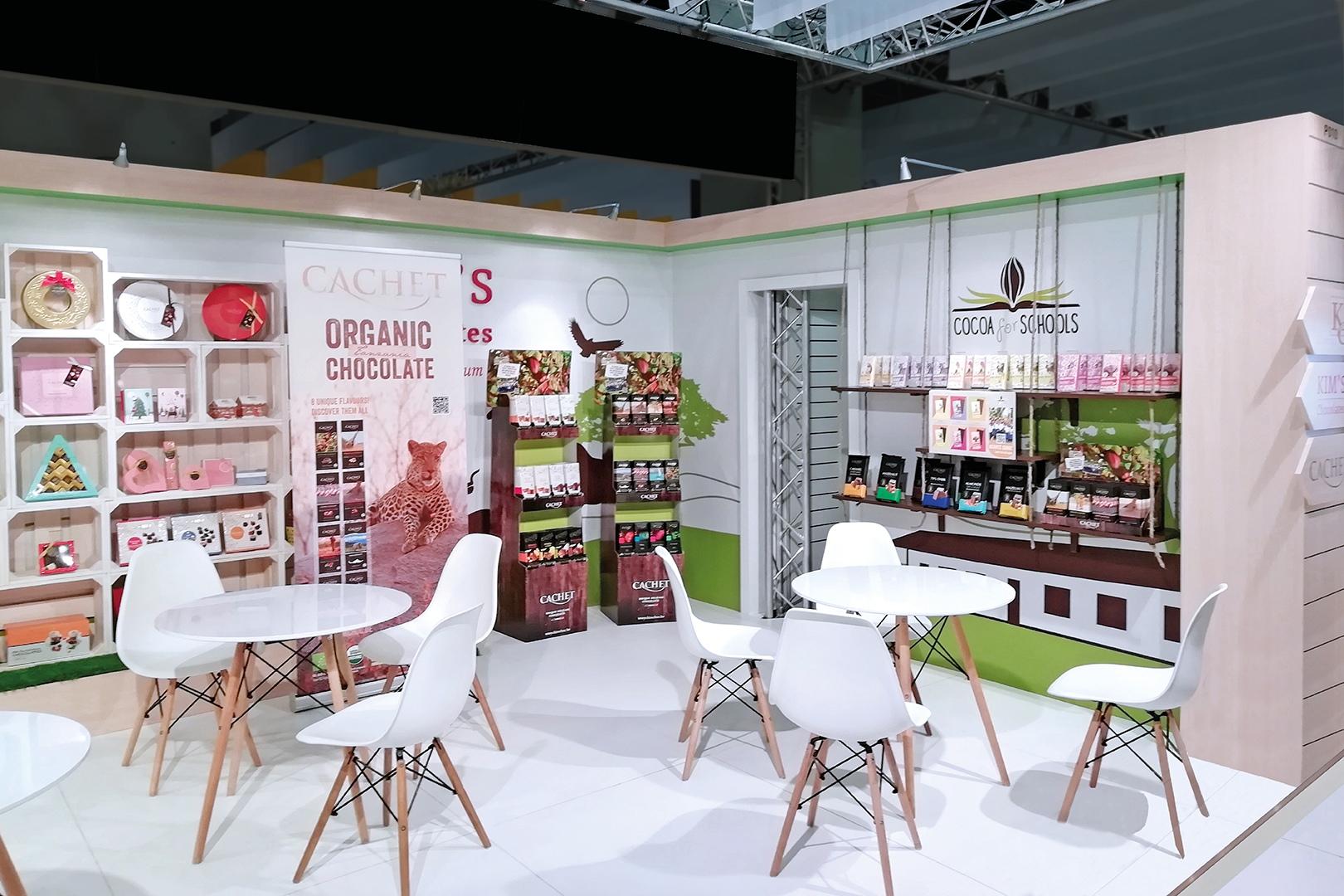 стенд компанії Kim's Chocolate на виставці у Кельні