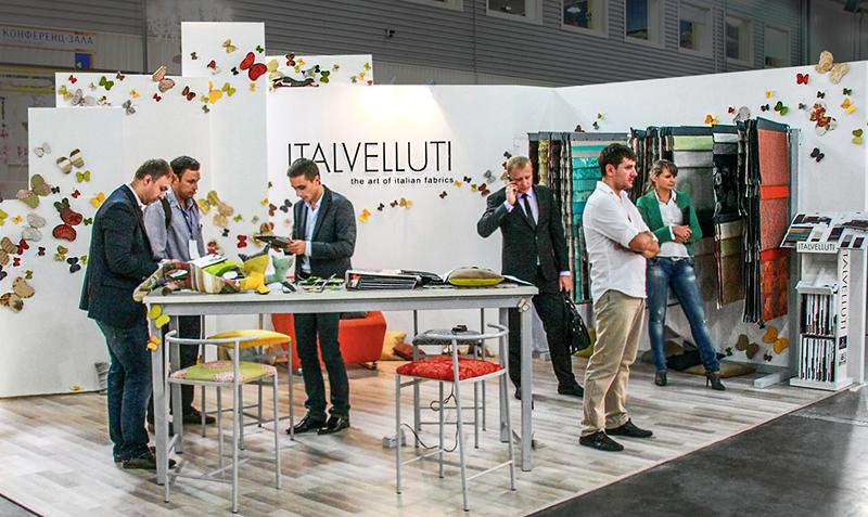 стенд зі штучними метеликами на виставці Design. Living Tendency у Києві