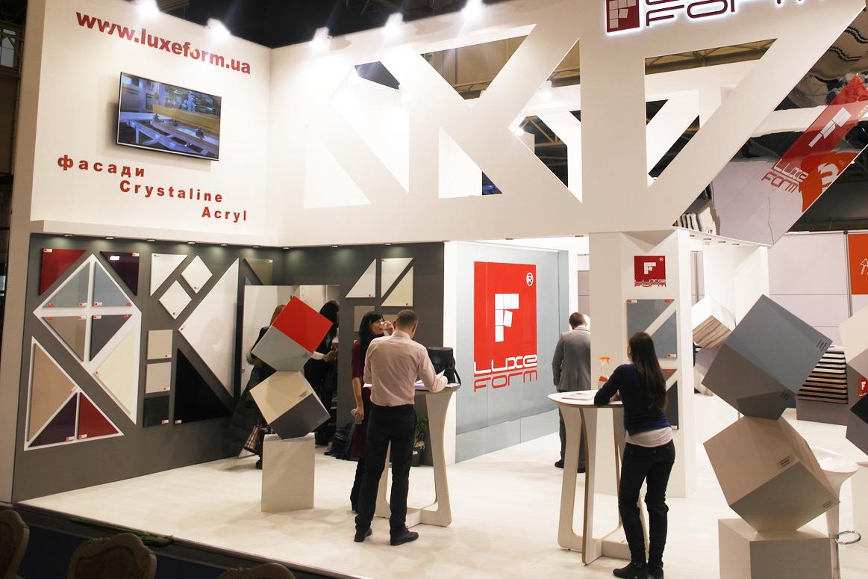 Виставковий стенд на меблевій та інтер'єрній виставці KIFF and MTKT