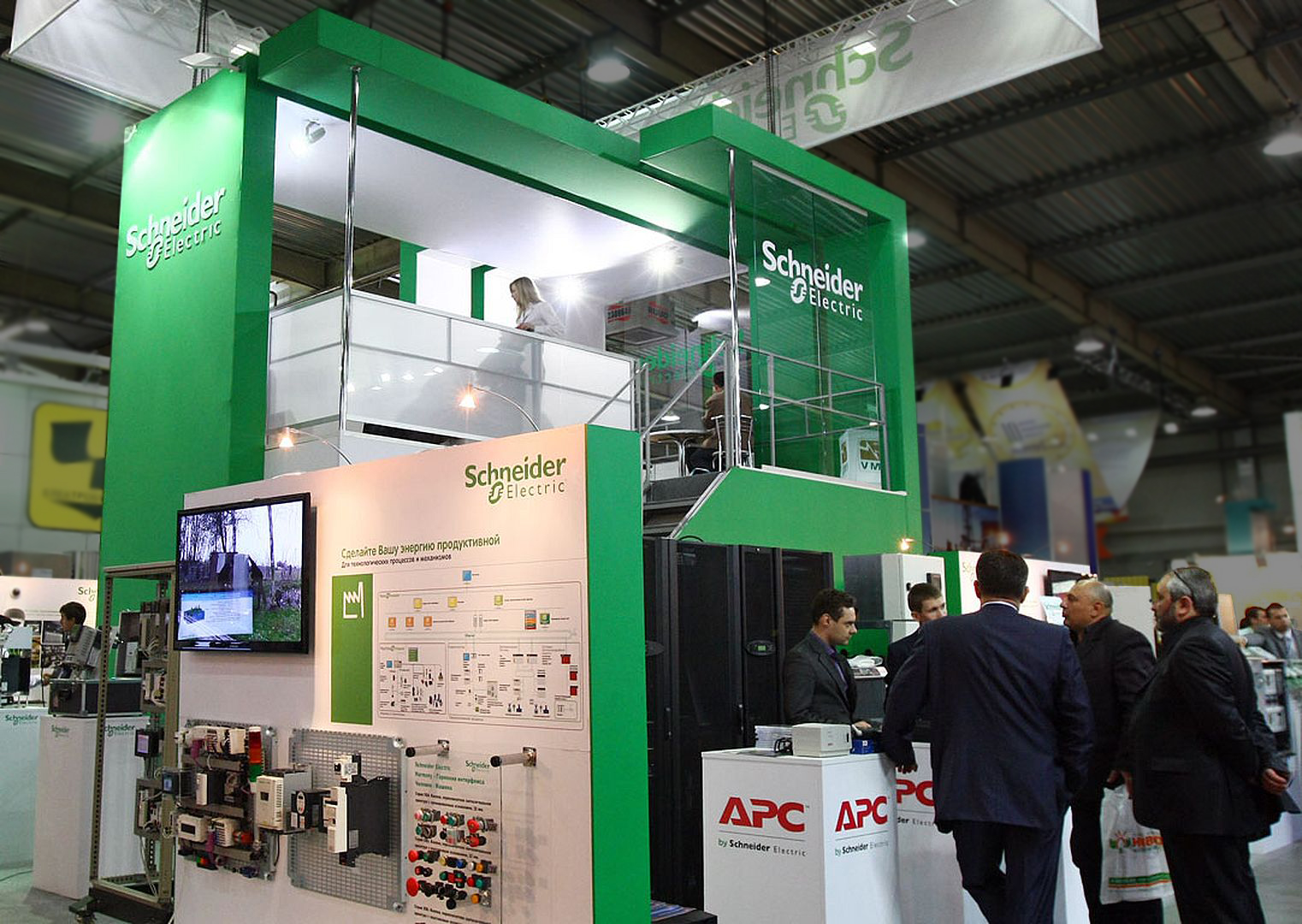 exhibition stand Schneider Electric