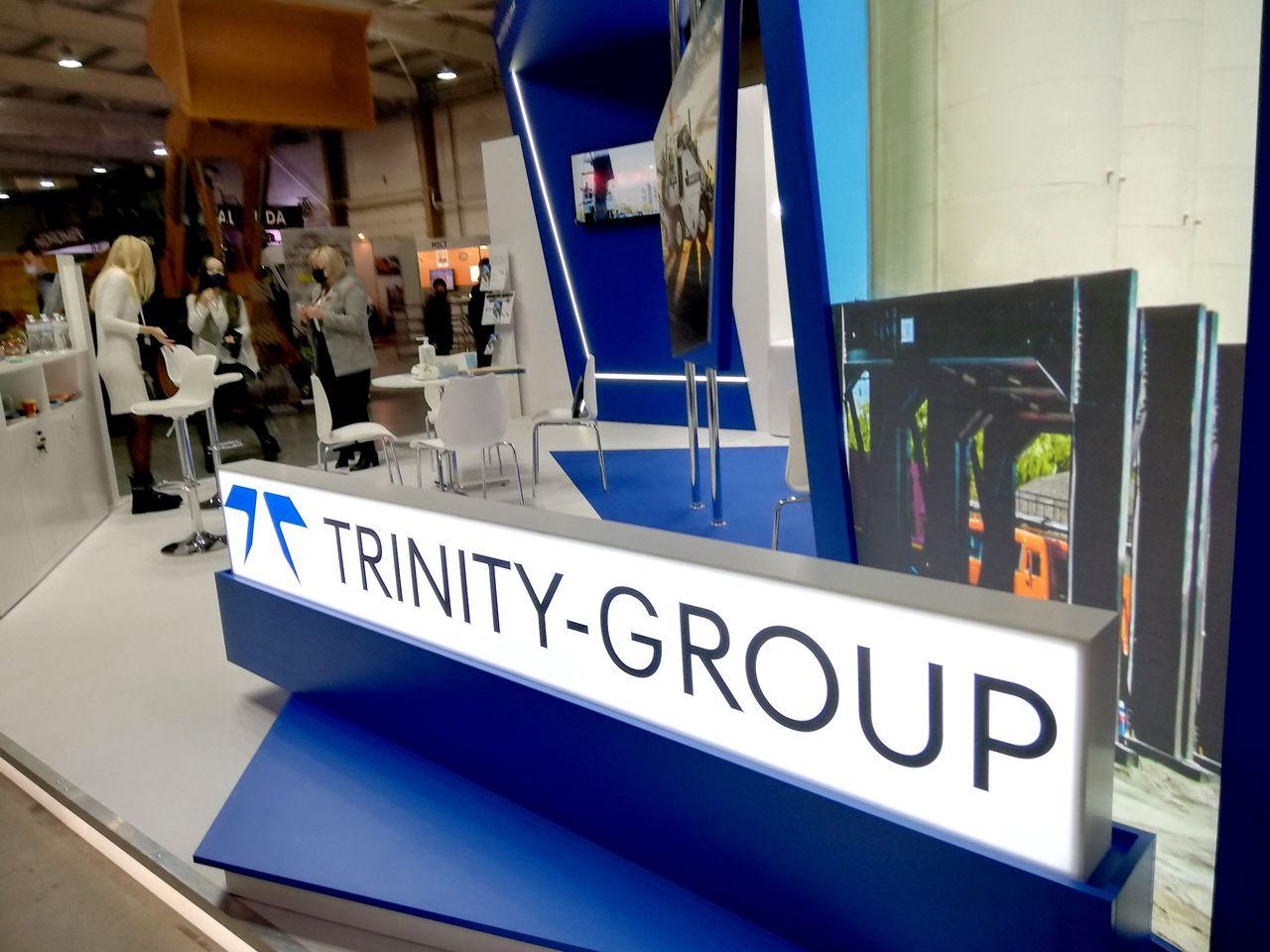 Виставковий стенд Trinity Group